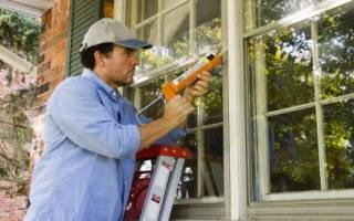 Чем промазать стыки пластиковых окон