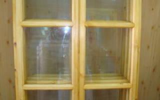 Деревянные окна для веранды и террасы
