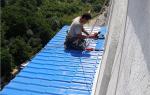 Гидроизоляция крыши балкона на последнем этаже