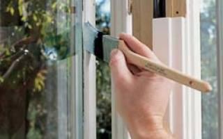 Как правильно красить деревянные окна