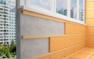 Сколько стоит утеплить балкон