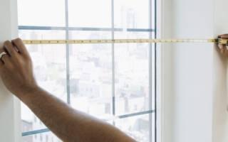 Как правильно замерить окна для замены