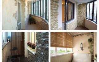 Материал для обшивки балкона внутри