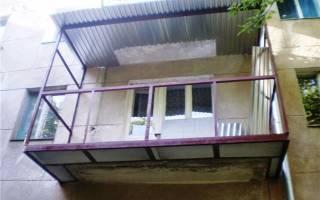 Увеличение балкона в хрущевке