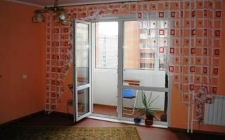 Заменить балконную дверь без замены окна
