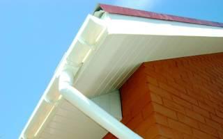 Водостоки пластиковые для крыши монтаж своими руками