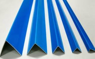 Пластиковый уголок для откосов чем крепить