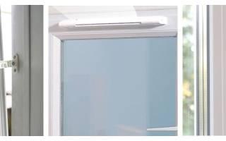 Система микропроветривания в пластиковых окнах