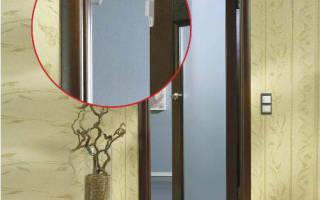 Установка геркона на металлическую дверь