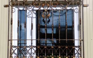 Изготовление решеток на окна своими руками