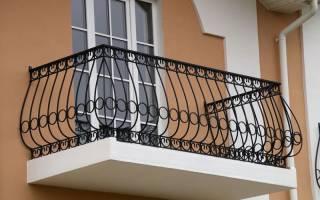 Высота ограждения балкона