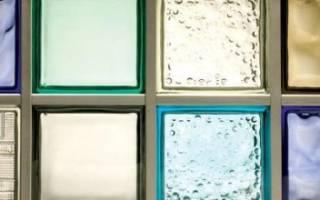 Установка стеклоблоков своими руками