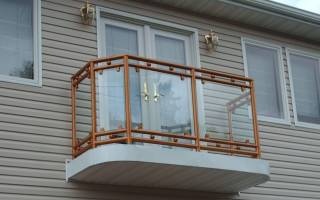 Ширина балкона ГОСТ