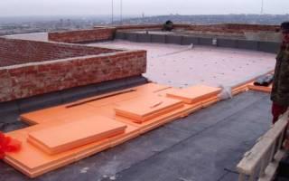 Утепление крыши экструдированным пенополистиролом