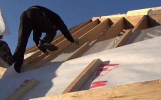 Изоспан с инструкция по применению для крыши
