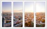 Стоимость застекления балкона