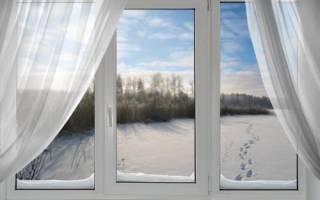 Зимнее проветривание пластиковых окон регулировка