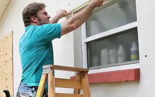Как замерять пластиковые окна