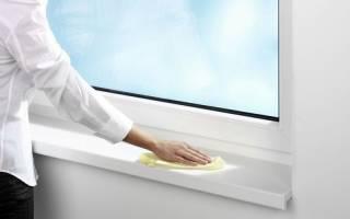 Чем отмыть пластиковые подоконники в домашних условиях
