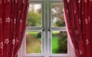 Как рассчитать длину штор на окно