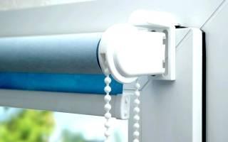 Как закрепить занавеску на пластиковом окне