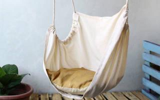 Как повесить гамак на балконе
