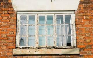 Как отреставрировать деревянные окна своими руками
