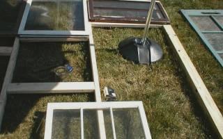 Как вставить стекло в металлическую раму?