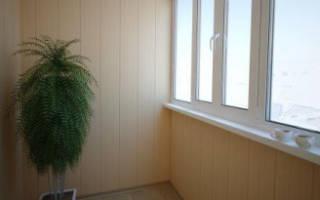 Сколько стоит отделка балкона пластиком