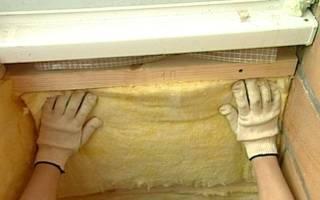 Утепление потолка лоджии своими руками