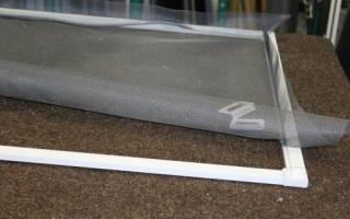 Как крепить москитную сетку на пластиковое окно