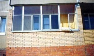Легкий кирпич для балкона