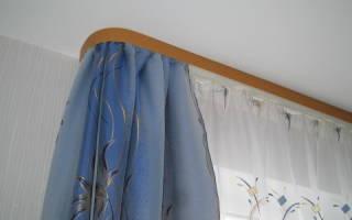 Как правильно вешать шторы на потолочный карниз