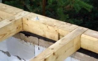 Монтаж крыши на газобетонные блоки