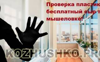 Звонят и предлагают бесплатно отрегулировать пластиковые окна