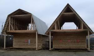 Установка стропильной системы двухскатной крыши своими руками
