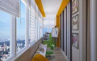 Как балкон превратить в комнату