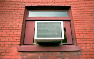 Оконный кондиционер в пластиковое окно