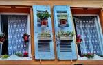 Дизайн пластиковых окон в загородном доме