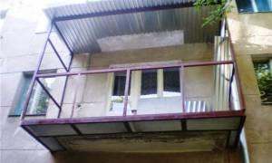 Размеры балкона в хрущевке панельной