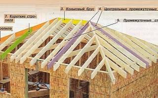 Как правильно сделать вальмовую крышу своими руками