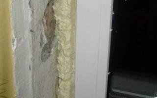 Чем заделать монтажную пену на окнах внутри
