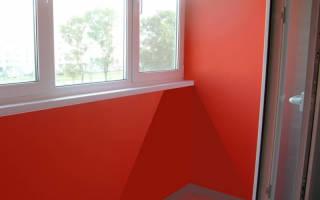Краска для балкона внутри