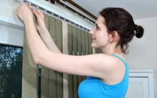 Как отмыть вертикальные жалюзи