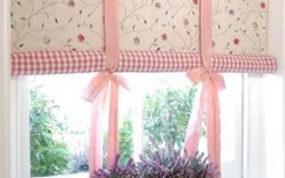 Как самим сделать рулонные шторы своими руками?