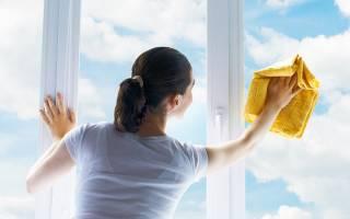 Чем чистить окна в домашних условиях