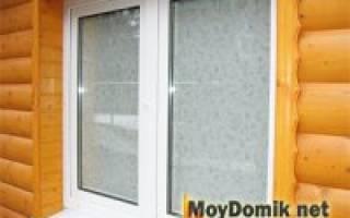Самостоятельная установка пластиковых окон в деревянном доме