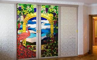 Как сделать витражное стекло в домашних условиях?