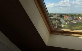 Как установить мансардное окно своими руками