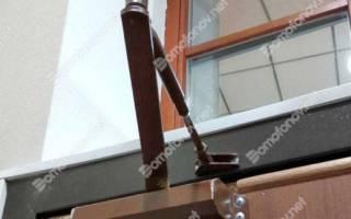 Стоимость установки доводчика на металлическую дверь